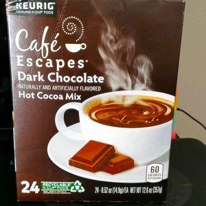 ☕Cafe Escapes dark chocolate hot cocoa mix 🍫